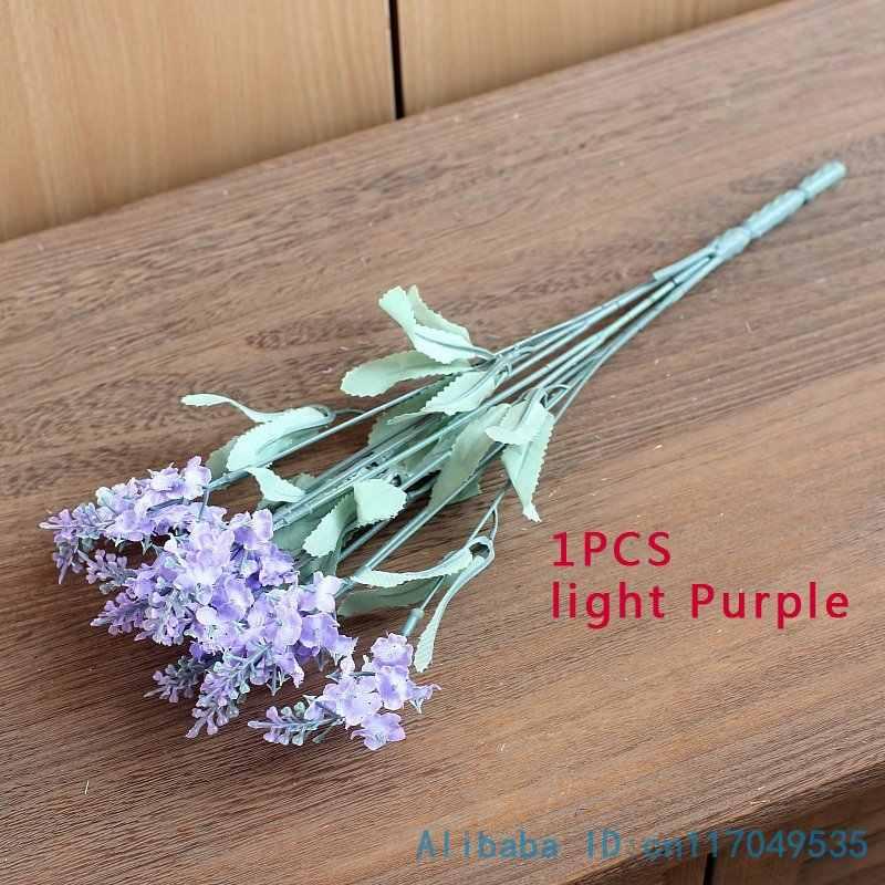 1 PCS Mooie Kunstmatige Lavendel Zijden Bloemen 4 Kleuren Beschikbaar F62