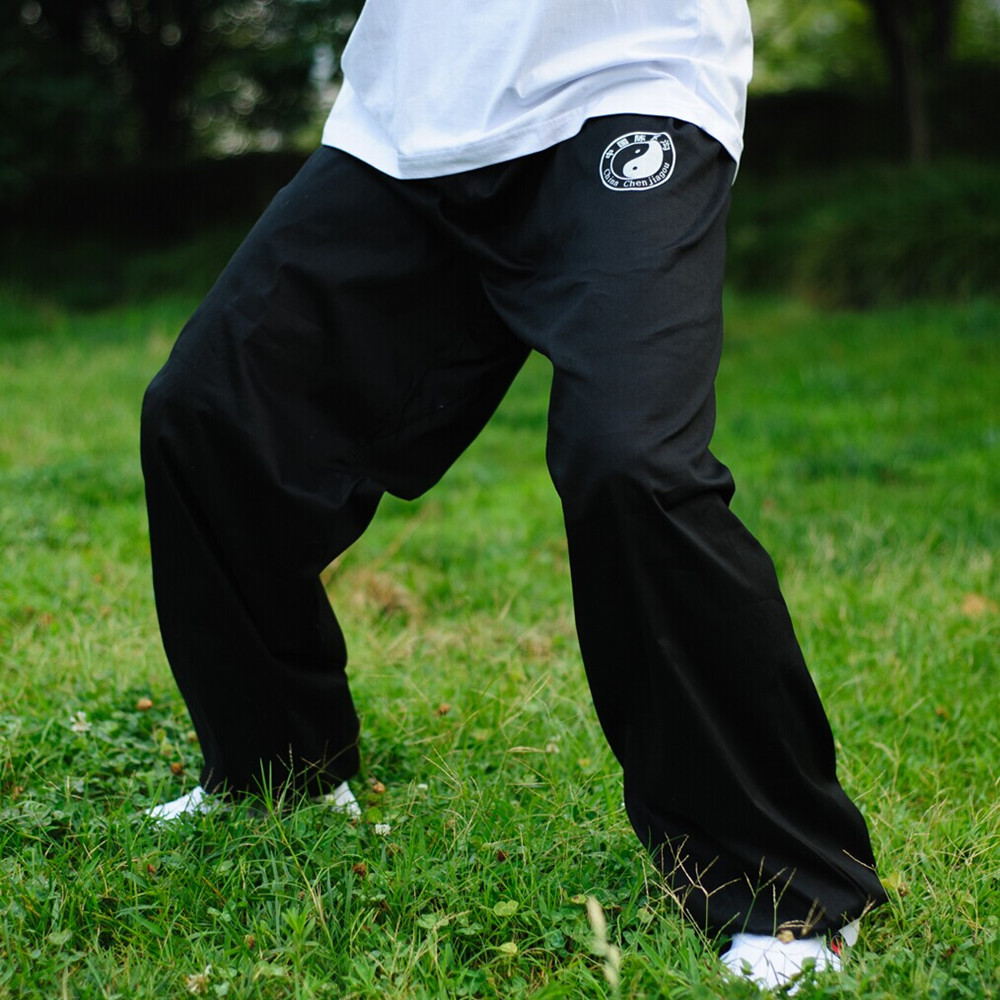 Martial Art Tai Chi Exercises Pants Chi Gong Wushu Training Breathable Trousers Chinese Kung Fu Martial Art Sport Pants