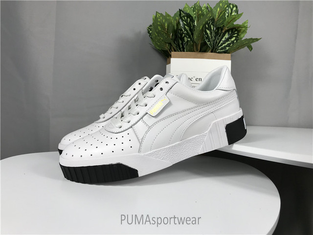 low priced f4a76 e8374 US $69.64 5% OFF|Original PUMA Basket Platform Euphoria Metal Women's  Sneakers Badminton Shoes Size35 39-in Badminton Shoes from Sports & ...