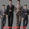 (Jackets+Pants) 2016 high quality Daniel Clothing Brand New Fashion Men Suits Single Breasted Regular Wedding dress Top Selling