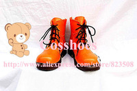 Custom made orange Tifa Shoes from Final Fantasy Cosplay