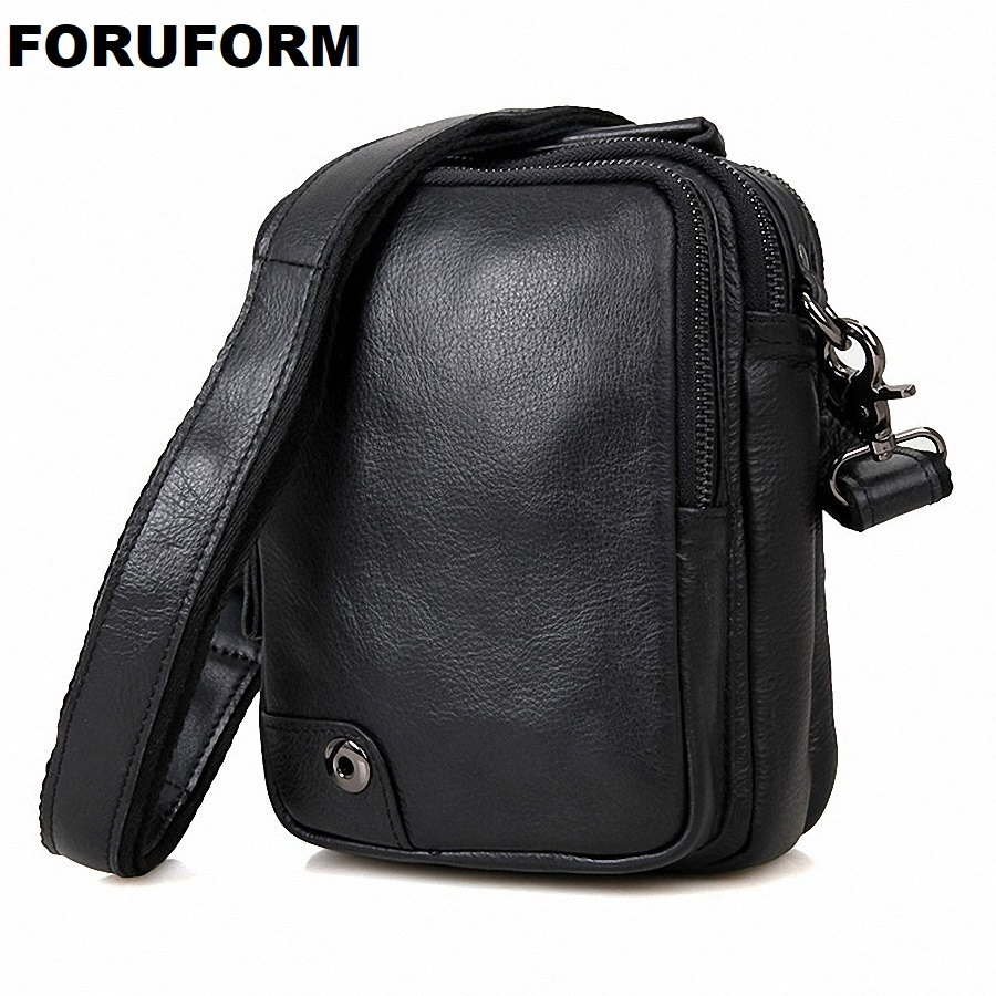 Men Messenger Bags Fashion Mens Genuine Leather Shoulder Bag Design Brand New High Quality Business Work Handbag Purse LI-1647 стоимость
