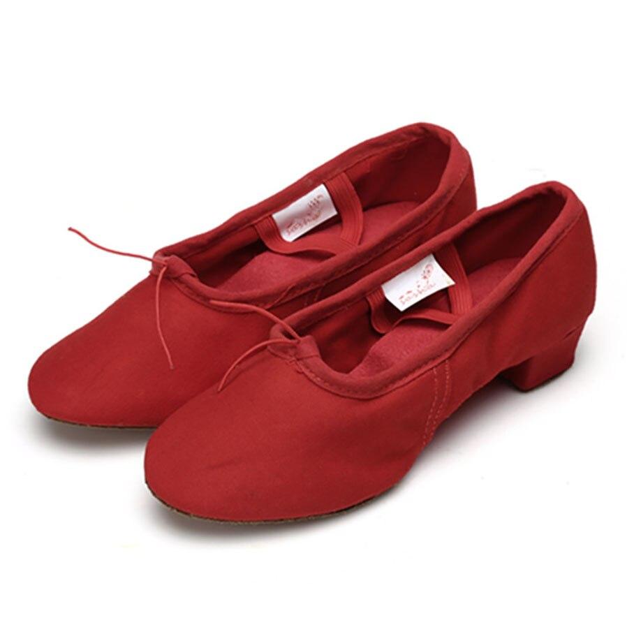 Crna Crvena Pink Balet Dance Cipele za žene Joga cipele Pratice - Tenisice - Foto 4
