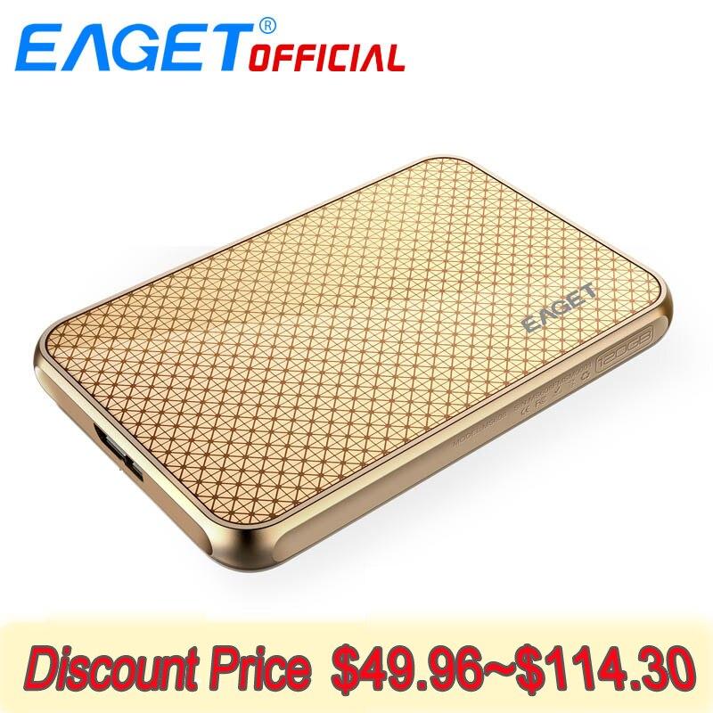 EAGET SSD 512GB HD External SSD Disk 128GB External Solid State Drive USB 3.0 High Speed Hard Drive Desktop for MAC OS Window PC цена