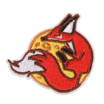 Cute FOX Badges Hippie Iron On Cartoon Patches DIY Patches Cloth Patch Embroidered For Clothes Jeans Coats T-shirts Sticker