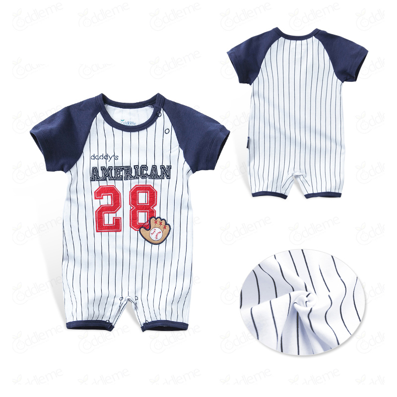 Honkbal Outfits voor kinderen trainingspak Jumpsuit Baby Romper - Babykleding - Foto 5