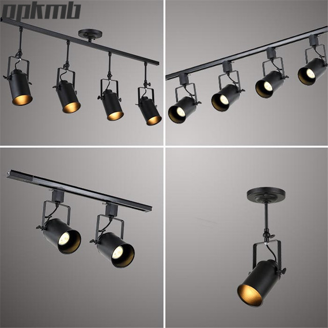 loft industriel plafonnier vintage led plafond lampes am ricain bar rural clairage personnalit. Black Bedroom Furniture Sets. Home Design Ideas