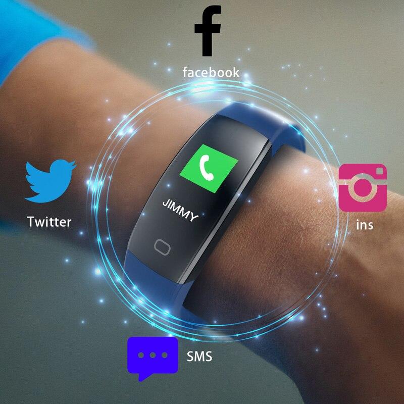 Smart Uhr Männer Frauen Fitness Schrittzähler Wasserdicht Unterstützung Facebook Sport-laufende Intelligente Armband Uhr Für Android Ios
