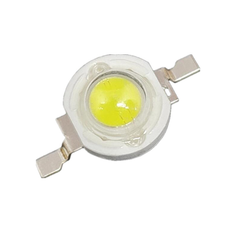Free shipping 100PCS 3W High power LED Lamp white/warm white 700mA 3.2-3.4V 260-280LM TaiWan Epistar Chip 2pcs 2835 7 smd high quality e10 led instrument lights epistar 1w warm white head lamp 12v free shipping