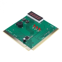 computer motherboard 4-Digit Card Pc Analyzer Computer Diagnostic Motherboard Post Tester For Pci Isa Power On Self Test Card (4)