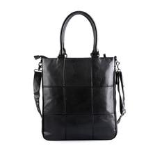 2016 new fashion Leather men handbag shoulder bag Satchel casual shopping men's totes cross body