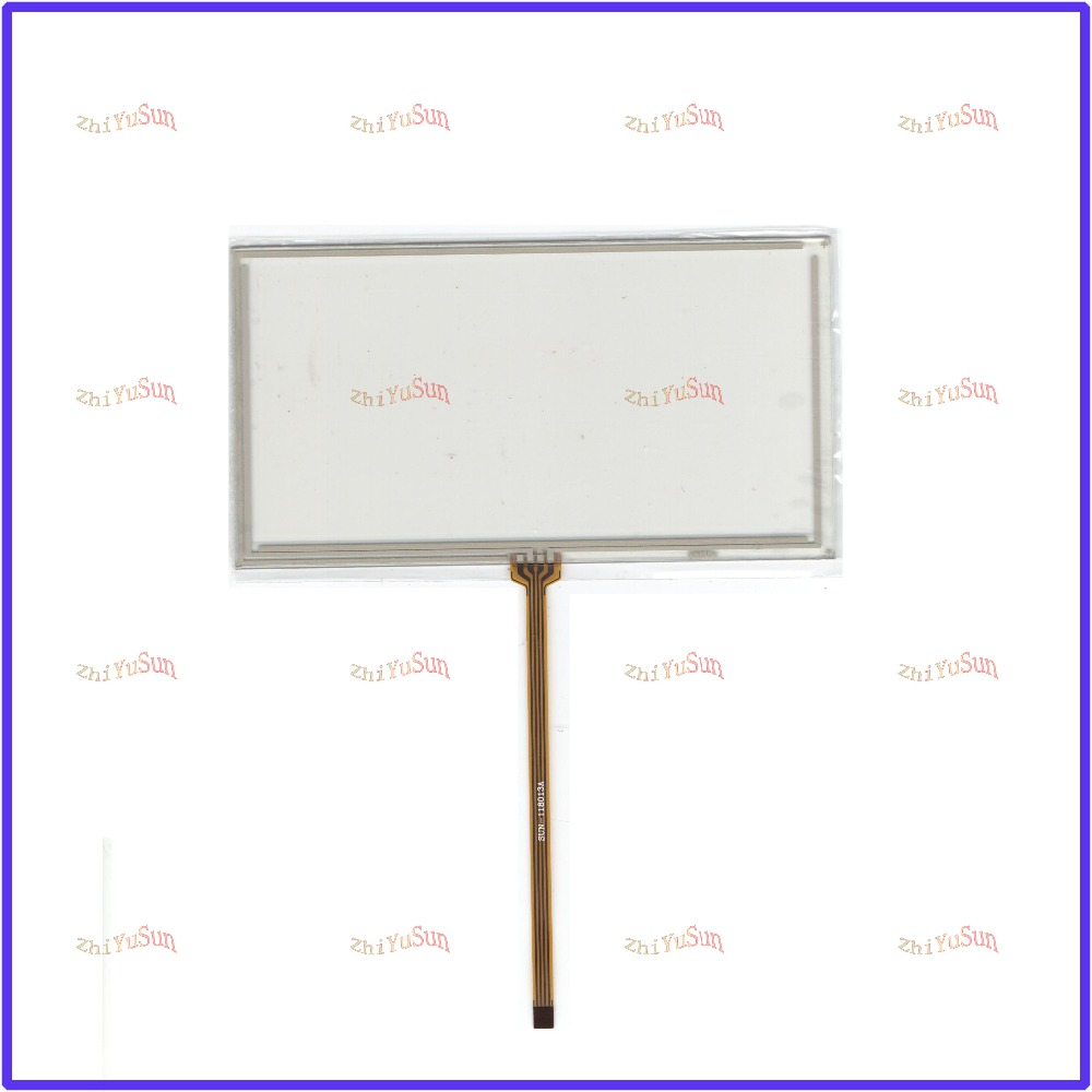 все цены на ZhiYuSun NEW 6 inch 4 wire Universal LCD Touch Screen Panel Digitizer CAR GPS Used SONY XAV-E62BT онлайн