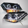 2008-2012 year for KIA Soul LED  Angel Eyes Head Lamps with Projector Lens