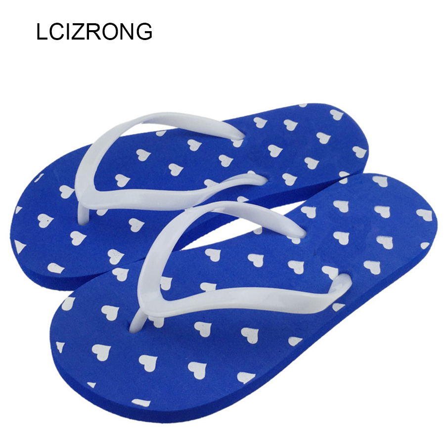 LCIZRONG Fashion Indoor Women Flip Flops Beach Stripe Cartoon 6 Style Slippers Summer Casual Non-slip Flat Flip Flops 2018 New new original dvp04ad h2 plc analog module eh2 series 24vdc 4ai