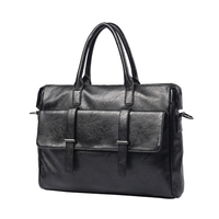 2019 New Arrival Fashion Briefcase Men's Business Bags Casual Genuine Leather Messenger Bag For Men Sacoche Office Work Package