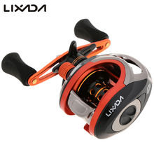 Lixada Brand 203g Super Light Anti-Corrosive 10+1BB 6.3: 1 Fresh/Salt Water Baitcasting Fish Reel Lure Fishing Pesca carretilha
