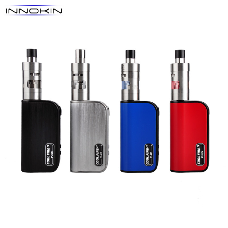 innokin coolfire iv plus 70w Box Mod E-Cigarettes kit with iSub Apex tank 3ml 22mm 3300mAh Vaporizer Electronic Cigarette kit innokin coolfire ultra tc150 kit 150w box mod vape electronic cigarette scion tank temperature control 4000mah battery built in