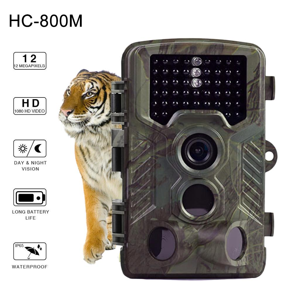 цена HC800M 2G MMS SMS Hunting Trail Camera Scouting Hunting Photo Traps Night Vision Wildlife Camera