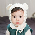 Autumn and winter new baby knit hat child boys and girls warm Christmas hat