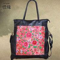 Новый Национальный искусственные Женщины Вышивка мешок цветок сумки случайный Плечо crossbody Мешок моды сумки Boho Индийских Этнических сумки