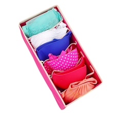 LASPERAL 4PCS Storage Boxes Underwear Divider Drawer Lidded Closet Organizer Ropa Interior Organizador For Ties Socks Shorts Bra
