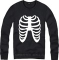 Kanye West  Tour Yeezy Merch Virgil Abloh Off White Hoodies Skull Skeleton Hoody Sweatshirts For Men Women Casual Jumpers