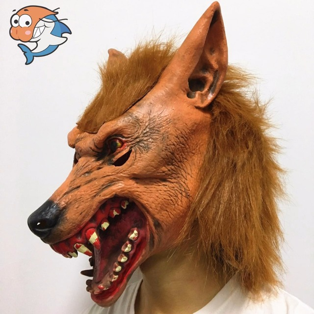 Aliexpress.com : Buy New Wolf Mask Creepy Halloween Costume Fur ...