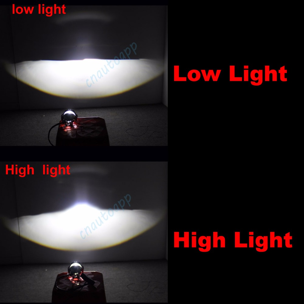 Mobil LED Lampu Auto Lens headlight 90 W Hi / Lo Beam 3.0 Inches - Lampu mobil - Foto 2