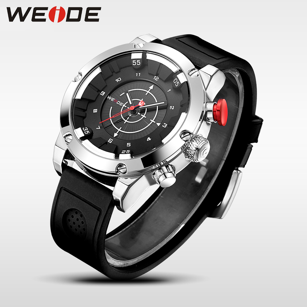 WEIDE luxury Genuine silicon watch quartz men sports Schocker Waterproof watch Electronic wrist watches trinkets Clock Man 6301 weide men s watches luxury analog leather watch quartz men sport bracelet watches waterproof schocker clock men wrist watch army
