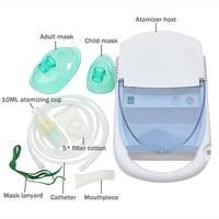 Portable Ultrasonic Inhaler Home Medical Air Compressor Atomizer Medicine Inhale Nebulizer Health Care Children Allergy Relief