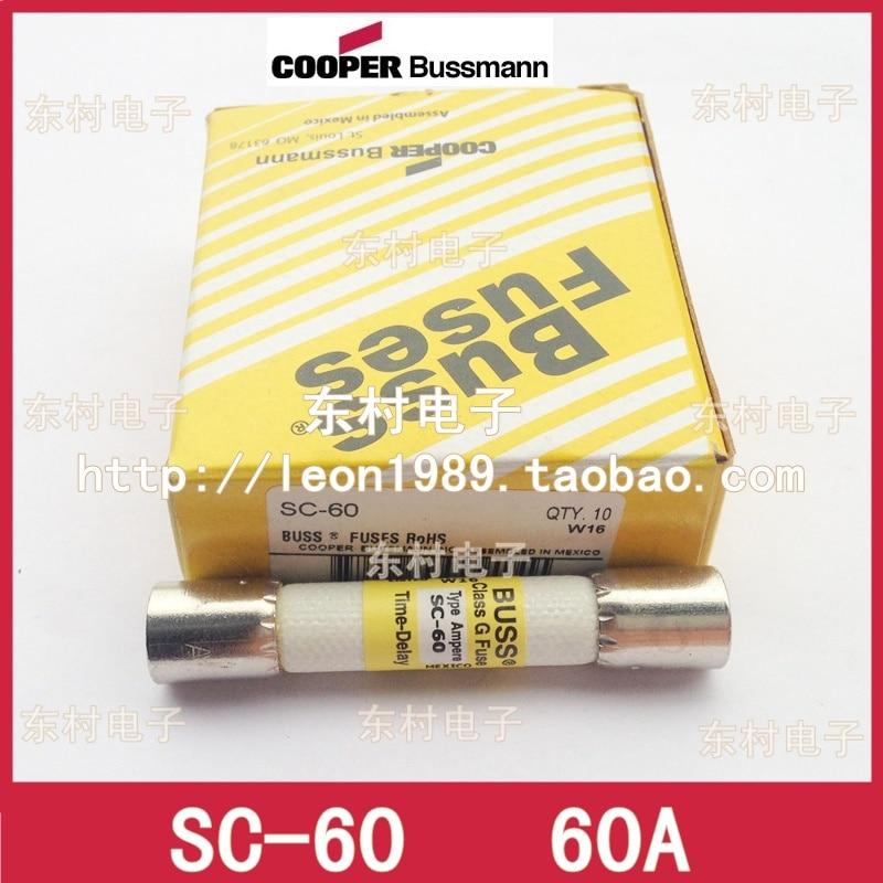 цена на [SA]US imports BUSSMANN fuse Class g Fuse Fuse SC-60 60A 480V--5PCS/LOT