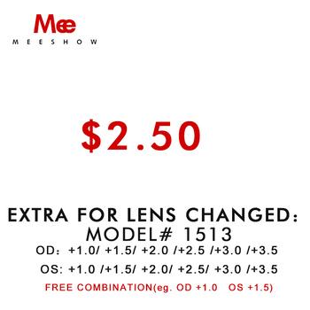 Dodatkowy koszt dla soczewki różne dioptrii dla OD i OS tylko dla zwykłej dioptrii tylko dla 1513 okularów do czytania nie wysyłaj sam tanie i dobre opinie Meeshow Akrylowe WOMEN Okulary akcesoria Antyrefleksyjną +1 0 +1 5 +2 0 +2 5 +3 0 +3 5 1513 only