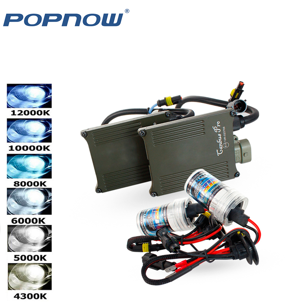 Free Error H7 XENON HID kit Fast start ballast 12v 55w H1 H3 H4 H7 H11 9005 9006 881 D2S hid xenon lamp car headlight bulb