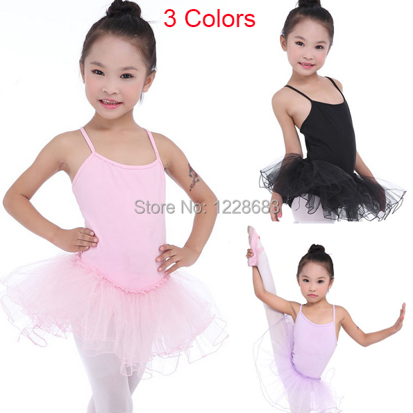 Free Shipping Kids Girls Ballet Tutu Dress Dance Wear Clothes Vestidos Danza Nina Balet Vestido Bailarina