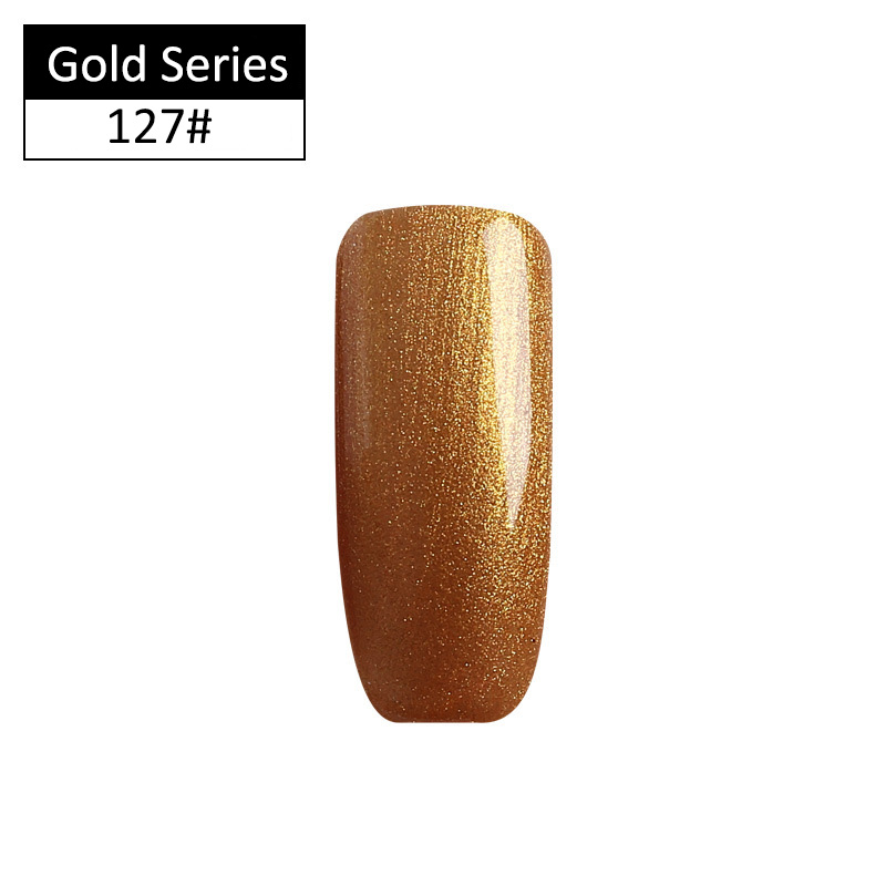 Hot Sale Sioux Gold Color Series Gel Nail Polish 8ml Nail Gel Polish Art Uv Led Nail Gel Semi Permanent High Quality Materials Nails Art & Tools