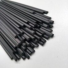 PP пластиковые сварочные стержни(3 мм) черные, упаковка из 40 шт/треугольной формы/сварочные принадлежности