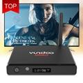 100% Original YUNDOO Y7 Caixa de TV Inteligente Android 6.0 KD 16.1 Conjunto Top Box S905X 64bit KD 16.1 4 K x 2 K Amlogic Quad Core Display LED