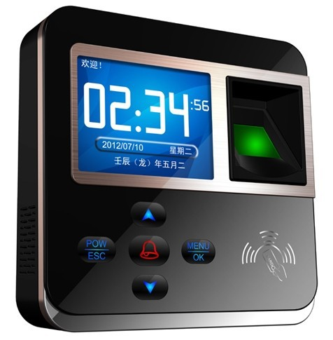 ФОТО Free Shipping  , TCP/IP fingerprint Access Controller ,support ID module , finger Time Attendance ,sn:M-F211