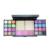 35 colores cálidos Bastante Sombra de Ojos brillo de labios Colorete paleta de sombra de ojos Shimmer Powder brush set Profesional Maquillaje Cosmético set