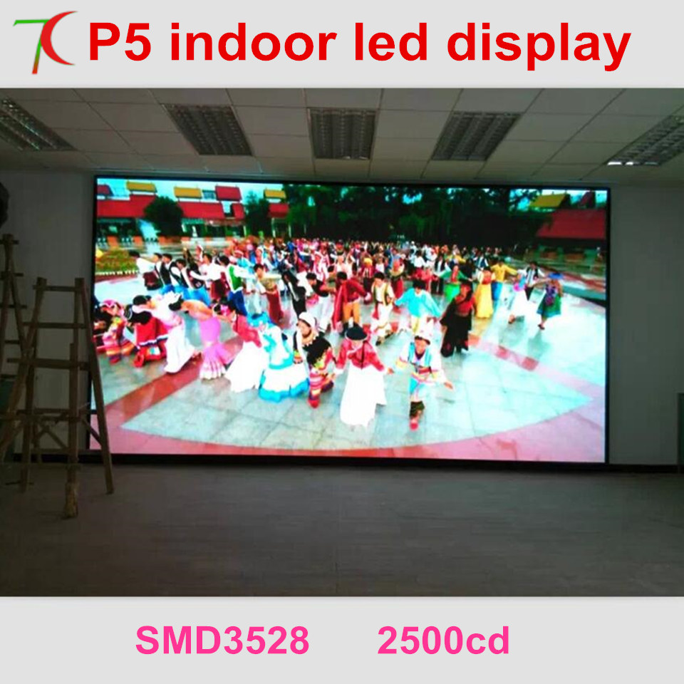 Cost-effective Installation Method Of P5 Indoor Full Color Led Video Wall For Meeting Room,multi-media Classroom