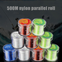 500M Nylon Fishing Line Japan Material Super Strong Monofilament Lines for Carp 2-35LB