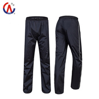 2015 New Double Layer Thicker Outdoor Waterproof  Windbreak Motorcycle Bicycle Raincoats Ride Rain Pants High Quality