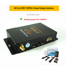 Auto HD Digital TV Turner DVB-T MPEG-4 Mobile Ricevitore TV Digitale per la Francia Spagna Repubblica di Polonia con USB HDMI