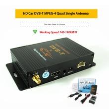 HD רכב טלוויזיה דיגיטלית טרנר DVB T MPEG 4 נייד Digital טלוויזיה צרפת ספרד צ כי פולין עם USB HDMI
