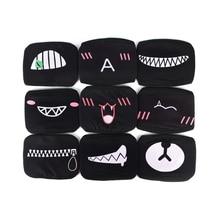 1PC Unisex Korean Style Kpop Black Bear Cycling Anti Dust Cotton Facial Protective Cover Masks Cotton Dustproof Mouth Face Mask