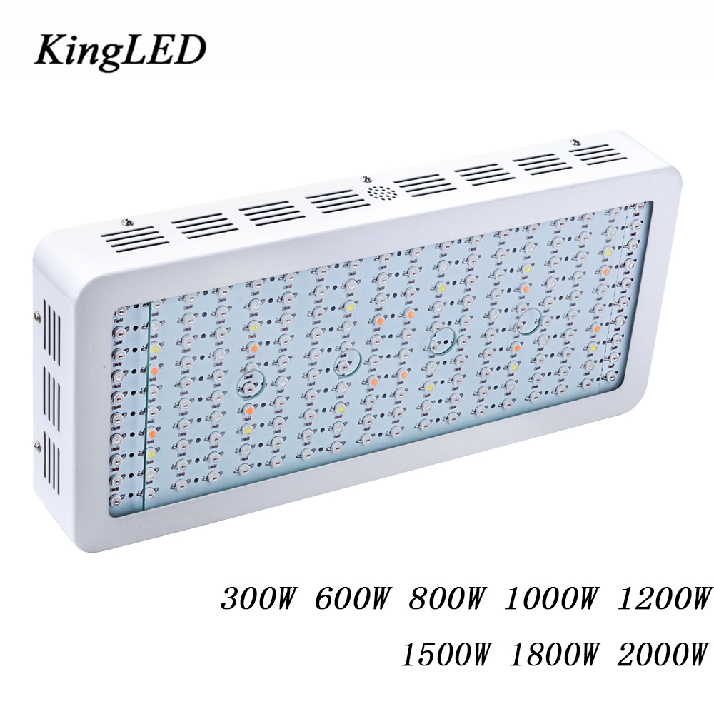 LED Grow Light Full Spectrum 300W/600W/800W/1000W/1200W/1500W/1800W/2000W for Indoor Aquario Hydroponic Grow LED Lamp High Yield on sale black kingled double chips full spectrum led grow light 600w 800w 1000w 1500w for aquario hydroponic lamp high yield