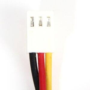 Image 5 - 10 adet 3PIN azaltmak PC Fan hızı gürültü uzatma direnç kablo tel 3 Pin erkek dişi konnektör PC Fan için