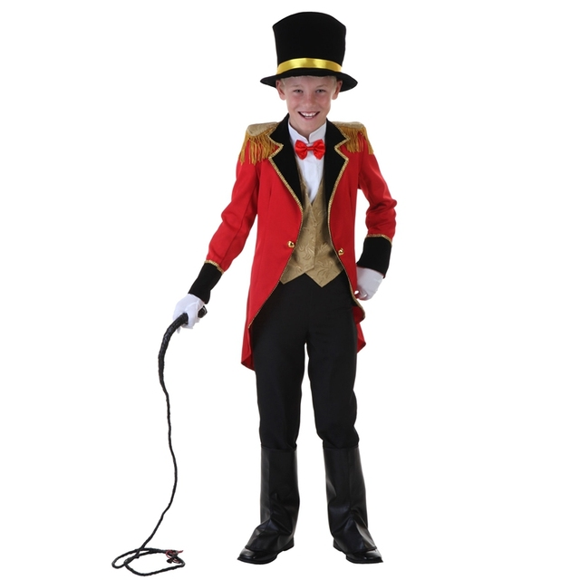 Astounding Child Boys Ringmaster Costume Kids Dashing Look Fancy-Dress Ready To Put On A  sc 1 st  AliExpress.com & Astounding Child Boys Ringmaster Costume Kids Dashing Look Fancy ...