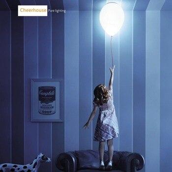 Ballon Flushmount Ceiling Lights White Glass Suspension For Kids Children Bedroom Ceiling Lamp Cute Lighting Fixtures PL267