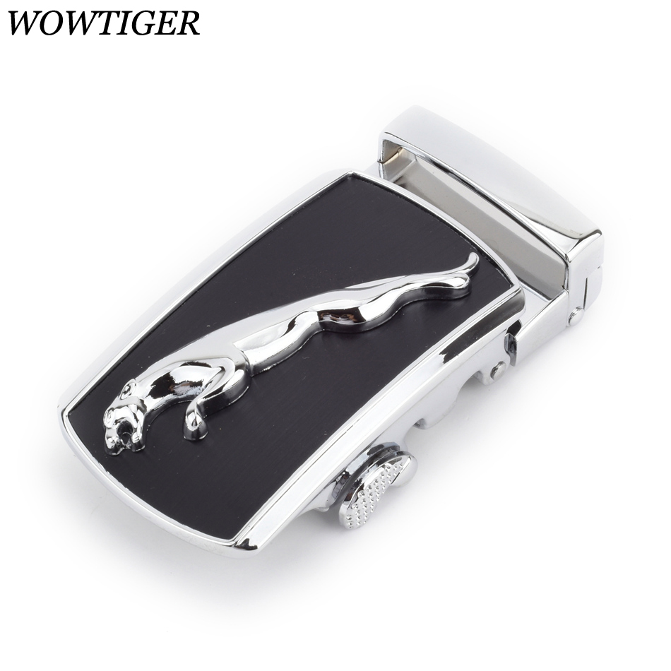 WOWTIGER High Quality Men Belt Zinc Alloy Automatic Buckle Suitable 3.5cm Boucle De Ceinture Ebilla Cinturon Buckles